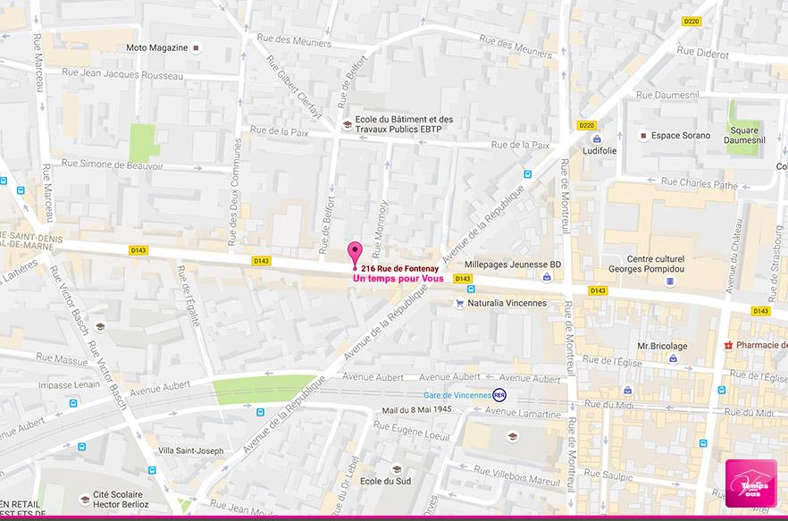 Carte menage et repassage - agence de Vincennes 1TPV