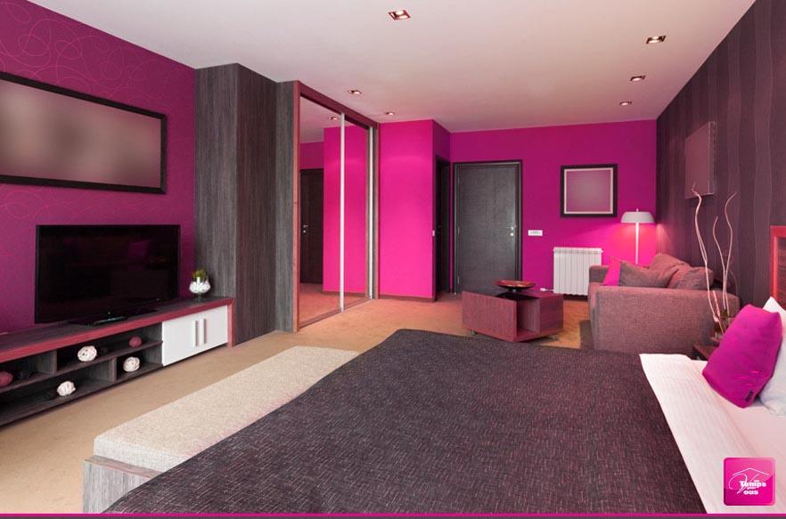 Chambre rangée et propre